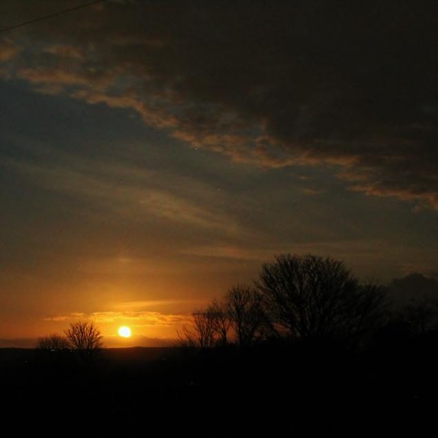 Moonrise Cornwall
