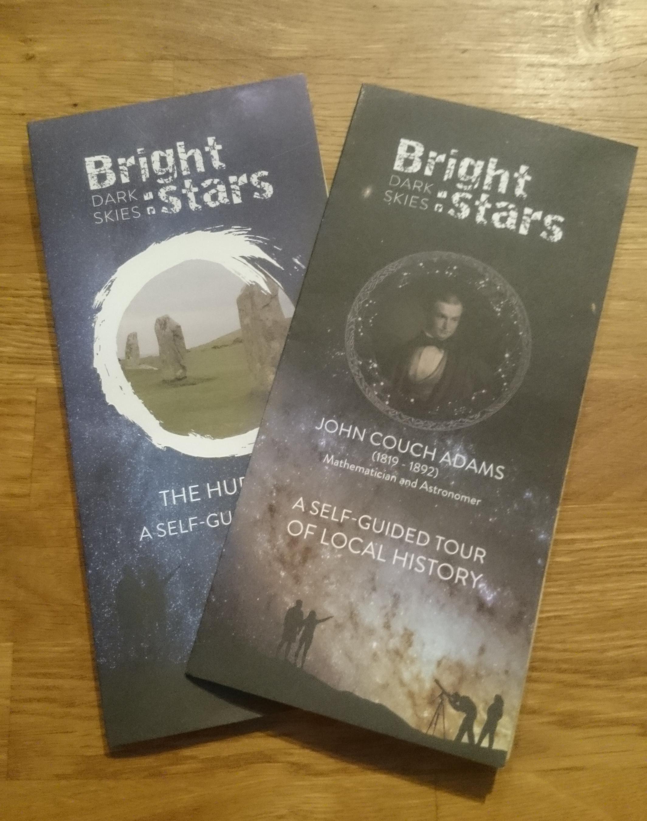 Bright Stars Dark Skies - Leaflet
